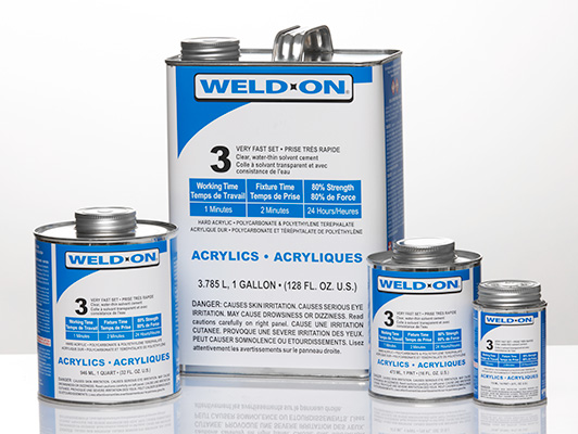 Weld-On 3 Product Group Shot